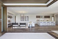 Carmelle 31: Alfresco, living room and kitchen.