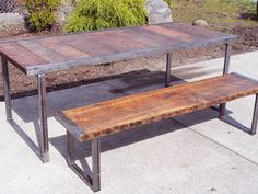 4th of July Sale 15% Off. 4 ft Industrial by MtHoodWoodWorks