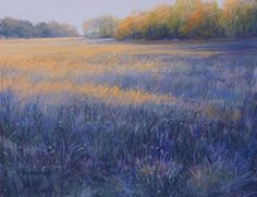 """Late October#2 by Kathy McDonnell Pastel ~ 14"""" x 18"""""""
