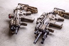SCAR 16s and 17s in some high end kit