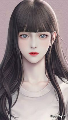 Manga Anime Girl, Anime Girl Drawings, Anime Couples Drawings, Digital Art Anime, Digital Art Girl, Pretty Anime Girl, Beautiful Anime Girl, Beautiful Girl Drawing, Cute Girl Drawing
