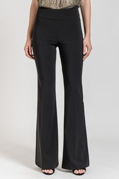 These bell bottom trousers are the absolute must-have! Discover more trousers at be you. Bell Bottom Trousers, Trousers Women, Bell Bottoms, Must Haves, Monochrome, Latest Trends, Classic, Color, Fashion