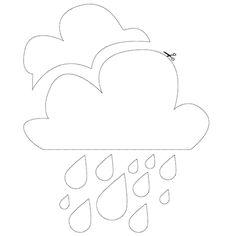 Cloud and rain / Nuage et pluie