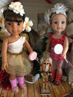 Wellie Wisher Inspired Christmas Sugar Plum by MermaidsAndDolls