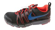 nike flex trail 2 mens running trainers 616511 sneakers shoes (uk 8.5 us 9.5 eu 43, black military blue light crimson cool grey 005) - Brought to you by Avarsha.com