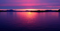Alaska, United States : Sitka sunset, by Wallflower83