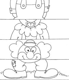 Crafts,Actvities and Worksheets for Preschool,Toddler and Kindergarten.Lots of worksheets and coloring pages. Clown Crafts, Carnival Crafts, Carnival Themes, Preschool Worksheets, Preschool Activities, Circus Crafts Preschool, Theme Carnaval, Puzzle Crafts, Clowns