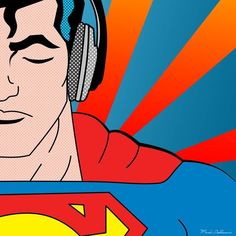 Pop Art Illustrations of Our Favourite Superheroes by GréGoire Guillemin