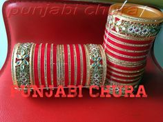 Amazing Kundan Stone Work Punjabi Chura Latest Design 2015 now available at your doorsteps. This chura has kundan stone work kadas with lct golden and cz jarkan stone work on both sides. Beautiful and attractive design of flowers made by kundan stones contains golden and white color are making these bangles lovely. Impressive, popular design of our punjabi chura collection. High quality, Unbeatable price range and fresh design of bangles now available only at punjabi chura .
