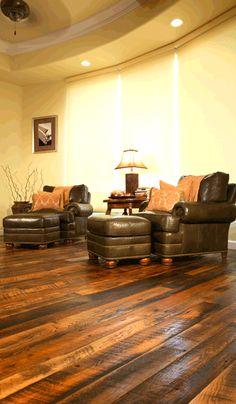 Tobacco Oak flooring