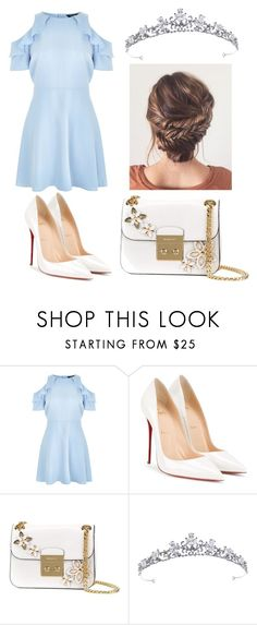 """""""Like a Princess"""" by diamantina288 ❤ liked on Polyvore featuring New Look, Christian Louboutin and MICHAEL Michael Kors"""