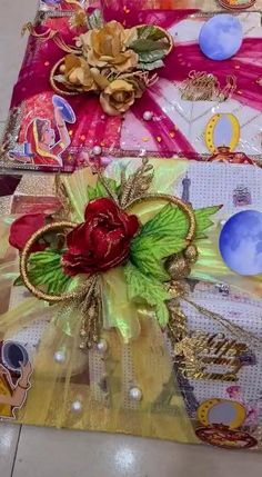 Bridal Gifts For Bride, Indian Wedding Gifts, Desi Wedding Decor, Wedding Favours Luxury, Home Wedding Decorations, Wedding Gift Boxes, Wedding Crafts, Bridal Gift Wrapping Ideas, Trousseau Packing