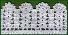 How to Crochet Wave Fan Edging Border Stitch Crochet Blanket Edging, Crochet Edging Patterns, Crochet Lace Edging, Crochet Borders, Filet Crochet, Crochet Designs, Crochet Doilies, Crochet Flowers, Diy Crafts Crochet