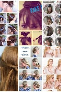 22 peinados rápidos para salir de apuro