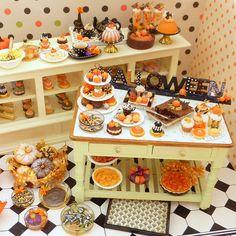 Halloween Fall Miniatures 2012