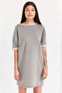 Silence + Noise Dax Dolman Sweatshirt Mini Dress