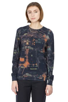 Her by Opening Ceremony City Grid Crewneck Sweater $ 160.00