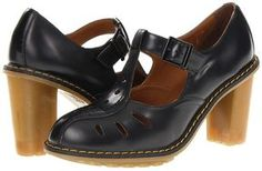 Dr. Martens - Arianna Cut Out T-Bar (Black Packard) - Footwear on shopstyle.com