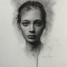 portrait drawing by @caseybaugh