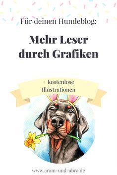 Mehr Leser für deinen Blog mit Grafiken - Illustrationen für Hundeblogger | Hund