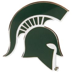 Add a uniquely stylish, new collector's item to your collection! This Michigan State Spartans Primary Logo pin from WinCraft will quickly become one of your favorite accessories! It features a durable, metal design with quality Michigan State Spartans col Michigan State Spartans, Fan Gear, Logo, Fitness, Sports, Inspiration, Hs Sports, Biblical Inspiration, Logos