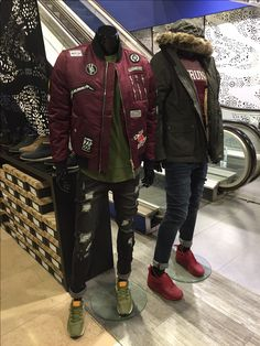 Fashionable Automne ! 2 looks hommes avec les marques : The new designers, Krung, Black Kaviar, Sauçons, Carhartt, Asics, etc...