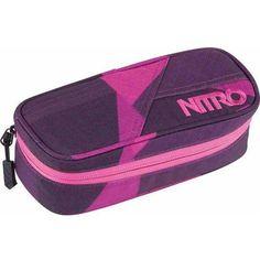 piórnik NITRO - Pencil Case Fragments Purple (037) - sprawdź w Snowbitch