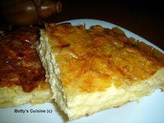 Betty's Cuisine: Τυρόπιτα με κασέρι και γραβιέρα Pie, Ethnic Recipes, Desserts, Food, Torte, Tailgate Desserts, Cake, Deserts, Fruit Pie