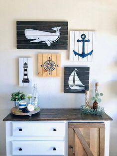 Nautical Nursery Decor, Nautical Wall Art, Nautical Wall Decor, Nautical Home, Coastal Decor, Coastal Wall Art, Nautical Baby, Nautical Quotes, Nautical Tattoos