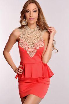 peplum dress design