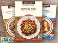 Cooksimple meals are always in my pantry.  My favorite is the Cowboy Chili.  It's nonGMO and organic.