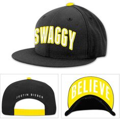 Justin Bieber Swaggy Hat ❤ liked on Polyvore
