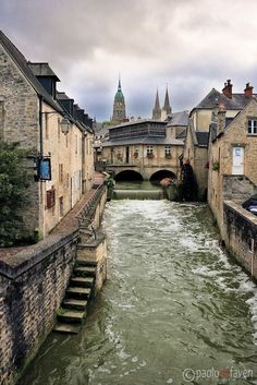 Downtown Bayeux ~ Normandy, France