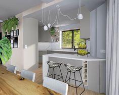 Działamy dalej z projektami. Jasna kuchnia o nietypowym kształcie. Długa, dość wąska i jeszcze ze ścianą pod kątem. Jak zawsze nie może być łatwo 😉. #kadawnetrza #mebleniedlakazdego #nowyprojekt #projekt #projektowaniewnetrz #kuchnia #projektkuchni #meblekuchenne #meble #szary #technistone #calacatta #newproject #project #design #interior #interiordesign #kitchendesign #kitchen #furniture #furnituredesign #furnituredesigner #designer #kuchen #möbel #küchenmöbel #küchen #meblenawymiar Kitchen, Table, Furniture, Design, Home Decor, Cooking, Decoration Home, Room Decor, Kitchens