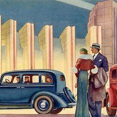 Detail Of Oldsmobile 1933 Century Of Progress Advertisement Poster by MADMENART