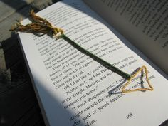 Hunger Games Arrow Bookmark (DIY) | Shades of Tangerine @Kristen - Storefront Life Pierce