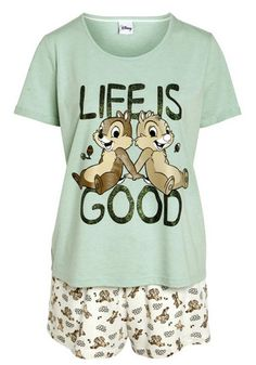 Disney Chip & Dale Life's Good Shorts Pyjamas