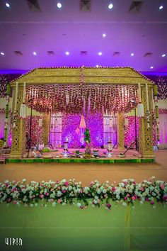 A Childhood Crush That Flourished Into A Wedding Story Wedding Stage Design, Wedding Stage Decorations, Flower Decorations, Stage Background, Wedding Background, Best Wedding Favors, Rustic Wedding Favors, Wedding Mandap, Wedding Reception