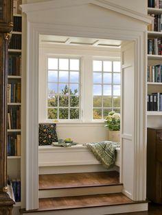 Fenster Bank Bücher Lesen französische Fenster
