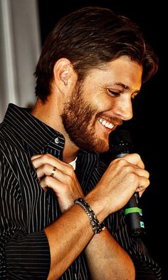 Jensen Ackles - even WITH the facial hair.  And I'm not big on facial hair.