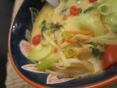 thai coconut curry soup   gluten free, vegan + paleo