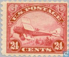 Stamps - United States - Airmail
