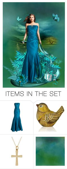 """""""Blue Butterfly"""" by cardigurl ❤ liked on Polyvore featuring art"""