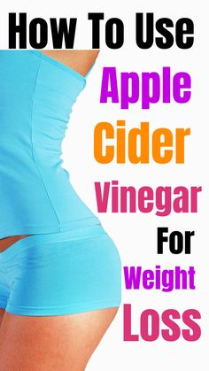 How To Use Apple Cider Vinegar To Help You Lose Weight. As you can see, apple cider vinegar has an endless amount of health benefits, weight loss being the most important Best Fat Burning Foods, Best Weight Loss Foods, Diet Plans To Lose Weight Fast, Healthy Food To Lose Weight, Fast Weight Loss Tips, Weight Loss Drinks, Weight Loss Smoothies, Healthy Foods, Healthy Detox