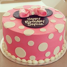 Minnie Mouse cake More