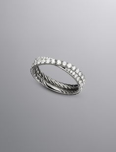 David Yurman Bridal Collection, Pave Diamonds | Bridal The Art of True Love Women's Wedding Bands | David Yurman Official Store