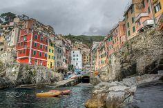 Riomaggiore village  City and architecture photo by JulianPopov2 http://rarme.com/?F9gZi
