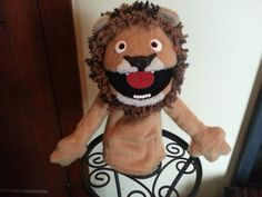Lancelot Lion puppet