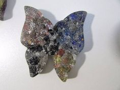 borboleta de orgonite tamanho m