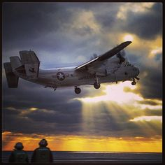 A C-2A Greyhound takes off from the flight deck of the aircraft carrier USS Theodore Roosevelt. #Navy #USNavy #AmericasNavy navy.com